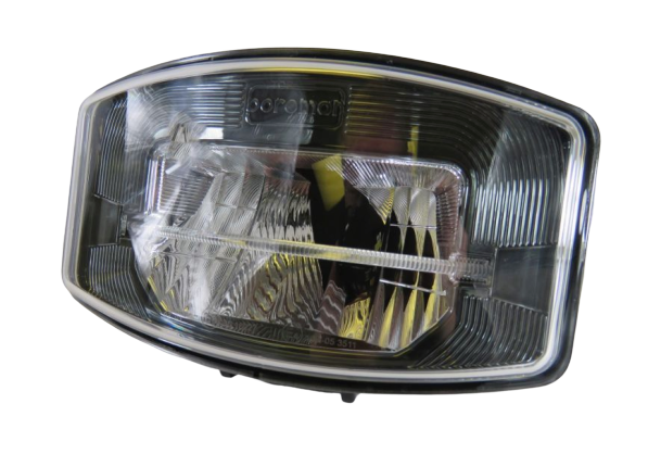 Boreman Smoked Chrome Full LED Driving Lamp