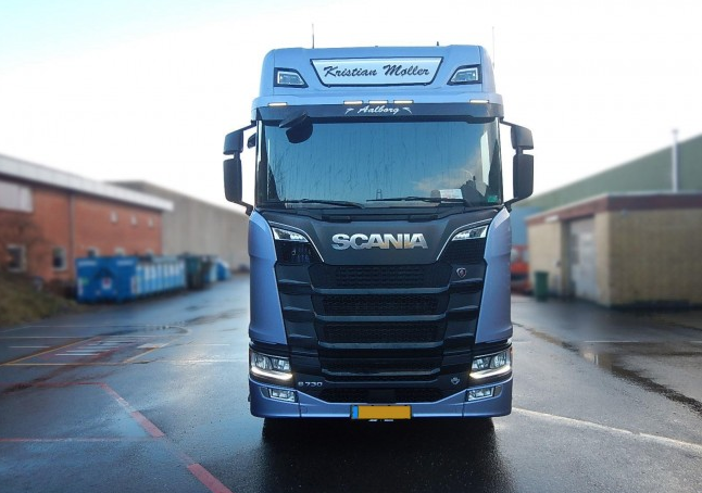 LED Nameboard - Scania Next Gen Highline 28x120cm R&S Series